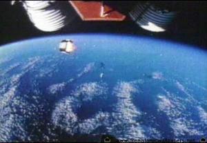 Asma ALLAH terlihat dibumi dari pesawat Apollo