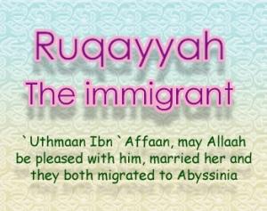 https://tausyah.wordpress.com/Ruqayyah-Binti-Muhammad-dan-Ustman-Bin-Affan