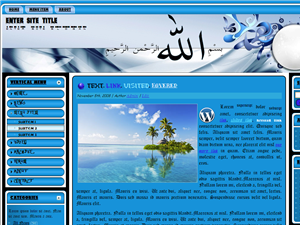 selengkapnya : https://tausyah.wordpress.com/download/islamic-wordpress-themes/-Gold-Templatelate