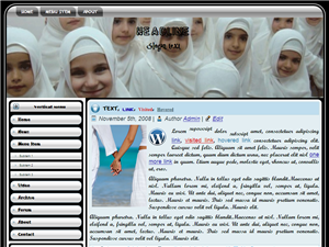Al-Muslimah Wordpress Theme