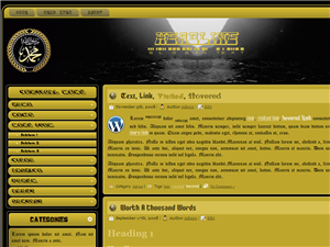 selengkapnya : https://tausyah.wordpress.com/download/islamic-wordpress-themes/-Gold-Template