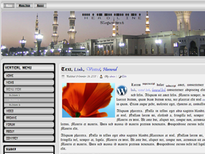Holy Madinah Wordpress template