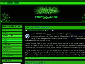 https://tausyah.wordpress.com/Bismillah In Green