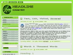 Islam Green Wordpress Theme