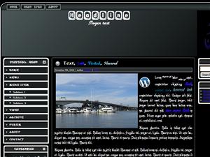 Black Wordpress Islam Template