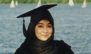 https://tausyah.wordpress.com/Aafia Shidduqui memakai Toga